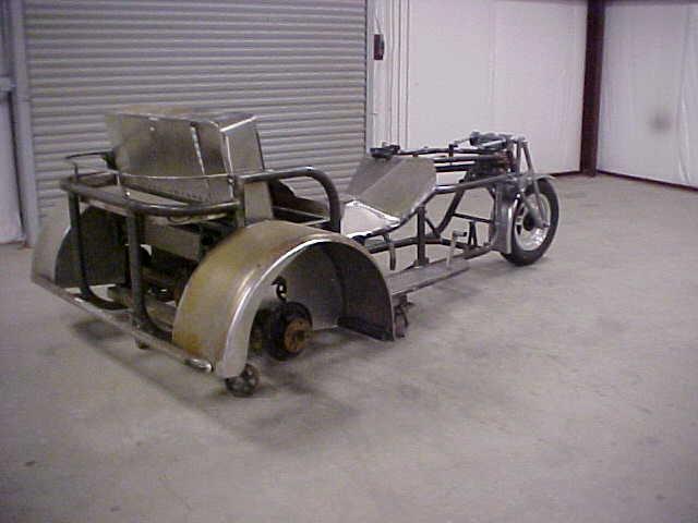 V-8 Trike Rolling Chassis Kit - Supertrike V-8 Powered